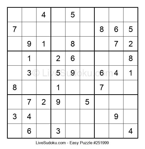 Beginners Puzzle #251999