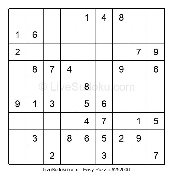 Beginners Puzzle #252006