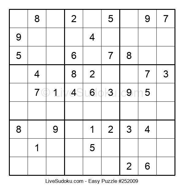 Beginners Puzzle #252009