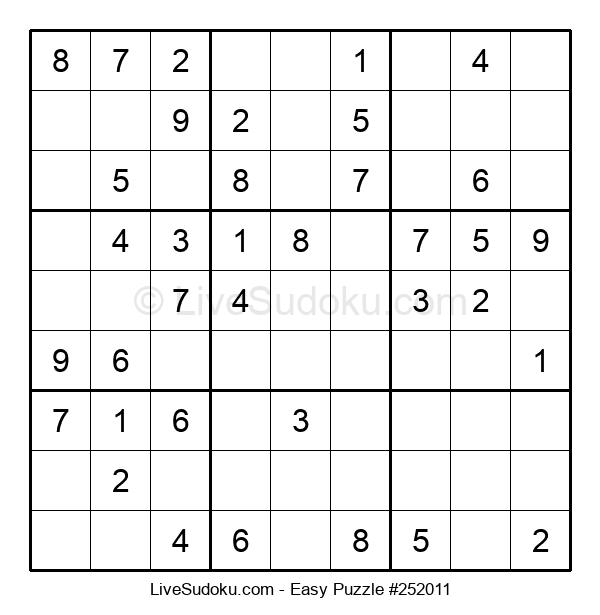 Beginners Puzzle #252011