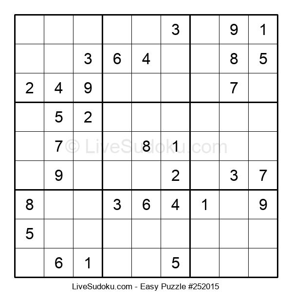 Beginners Puzzle #252015