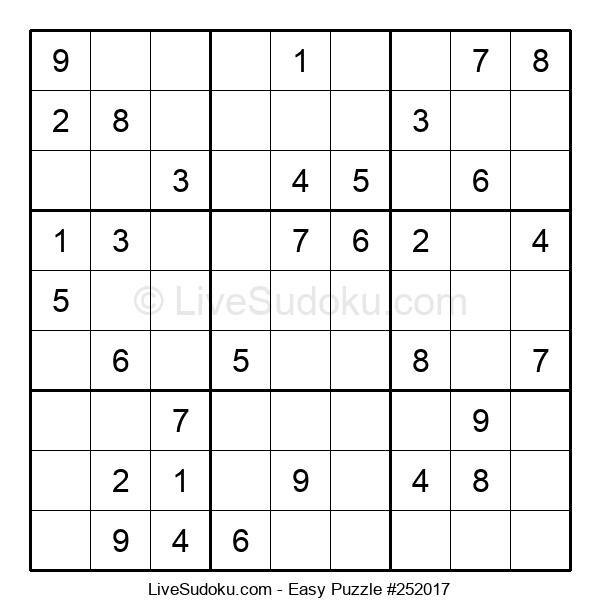 Beginners Puzzle #252017