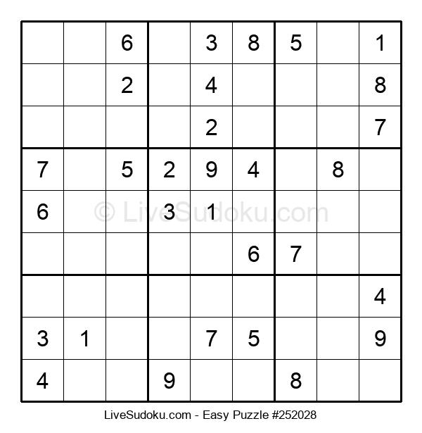 Beginners Puzzle #252028