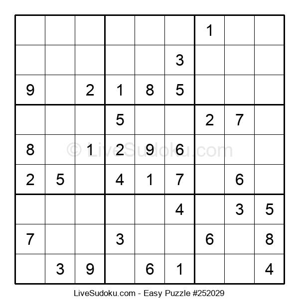 Beginners Puzzle #252029