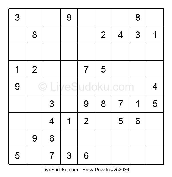 Beginners Puzzle #252036
