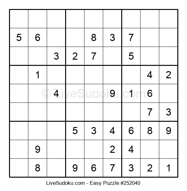Beginners Puzzle #252040
