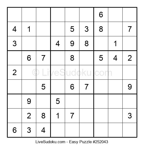 Beginners Puzzle #252043