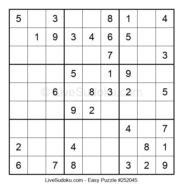 Beginners Puzzle #252045