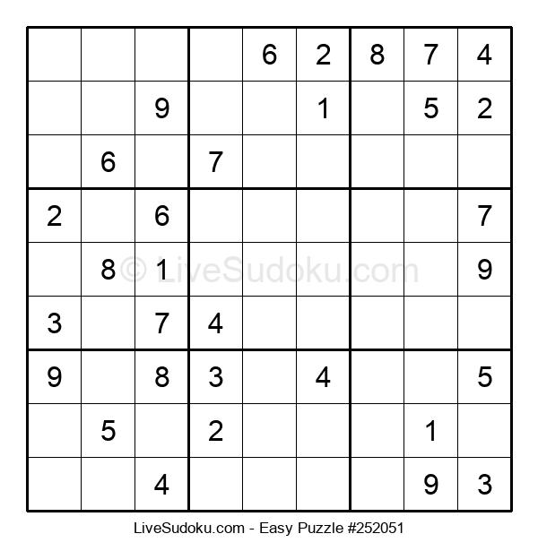 Beginners Puzzle #252051