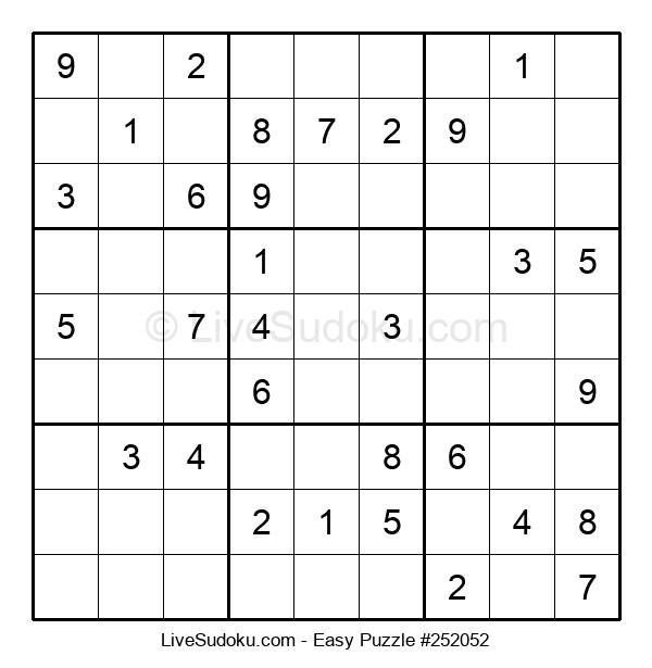 Beginners Puzzle #252052