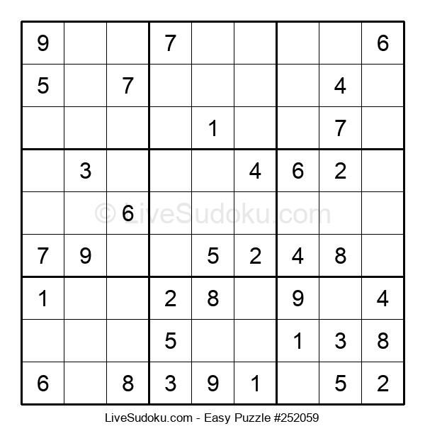 Beginners Puzzle #252059