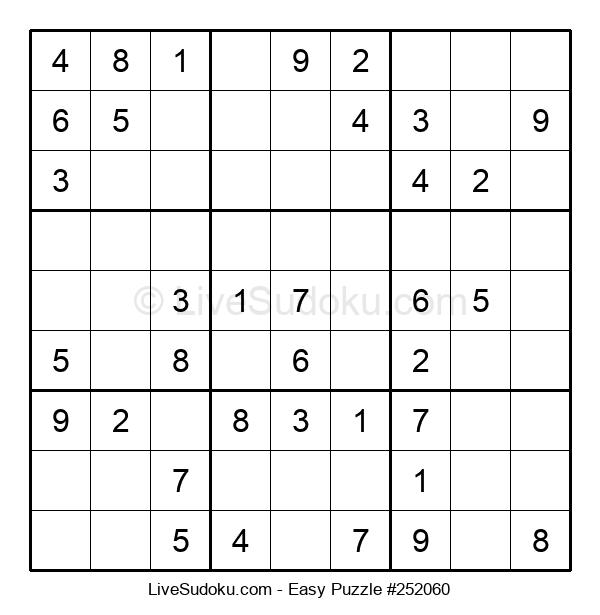 Beginners Puzzle #252060