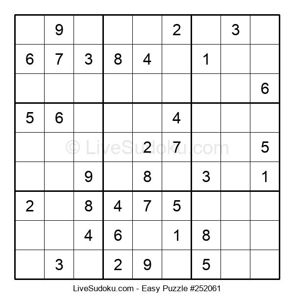 Beginners Puzzle #252061
