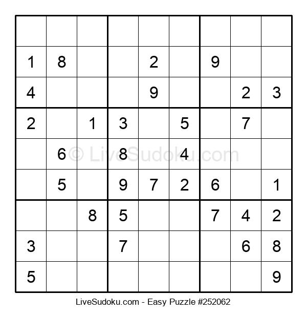 Beginners Puzzle #252062