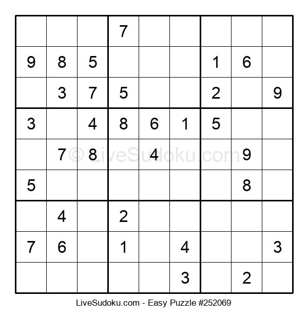 Beginners Puzzle #252069