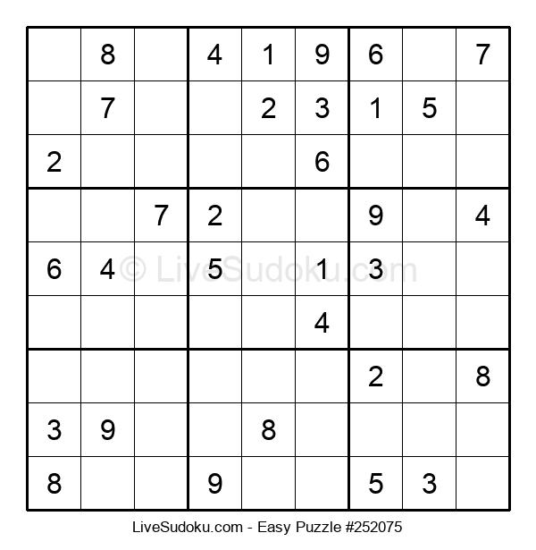Beginners Puzzle #252075