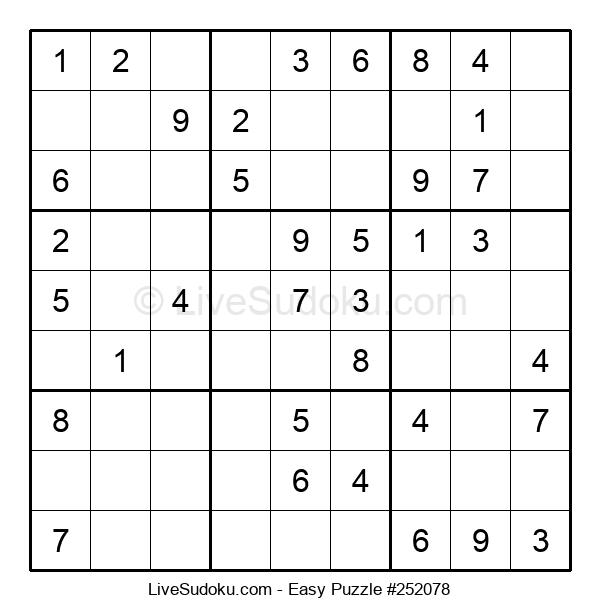 Beginners Puzzle #252078