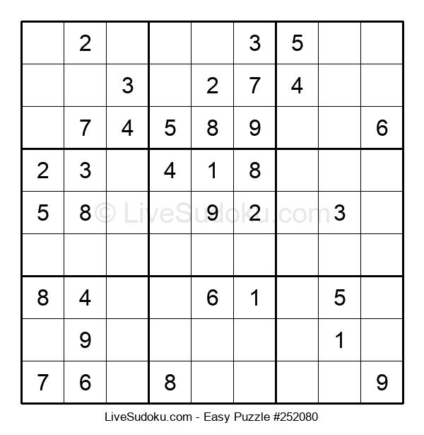 Beginners Puzzle #252080