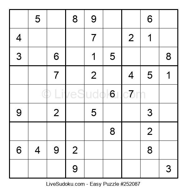 Beginners Puzzle #252087