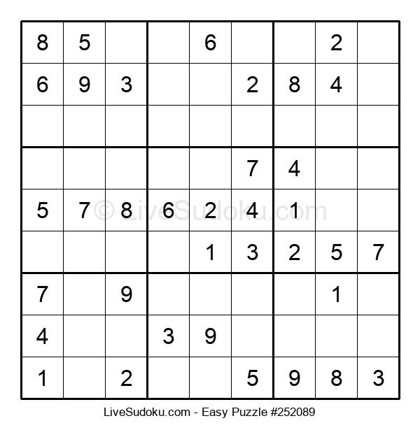 Beginners Puzzle #252089