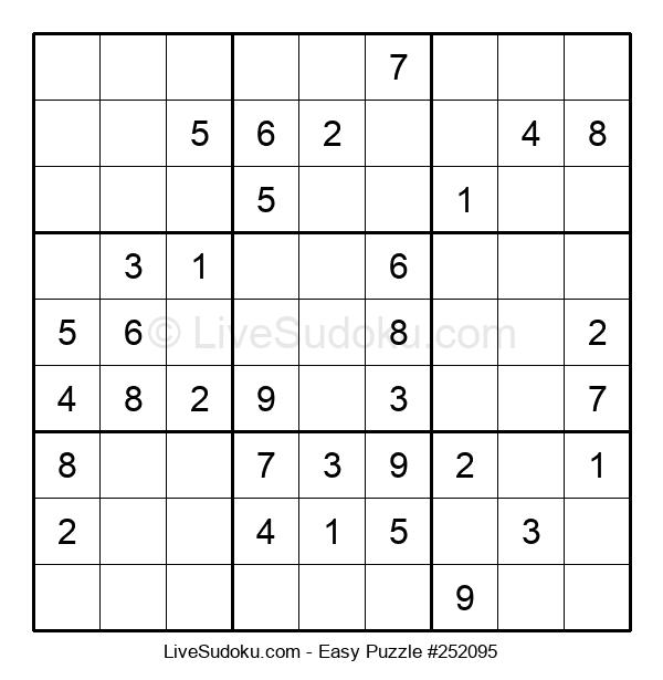 Beginners Puzzle #252095