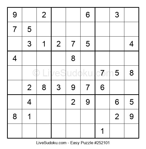 Beginners Puzzle #252101