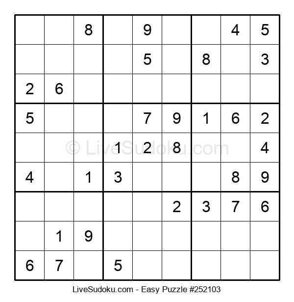Beginners Puzzle #252103