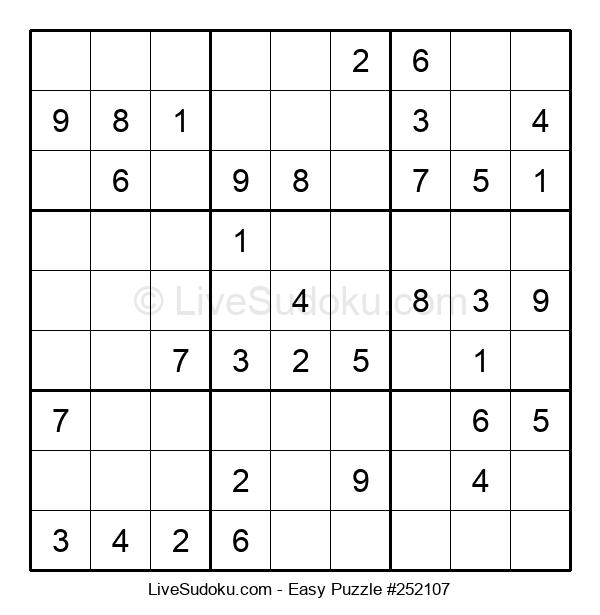 Beginners Puzzle #252107