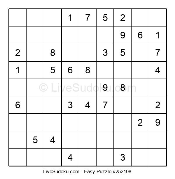 Beginners Puzzle #252108