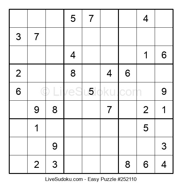 Beginners Puzzle #252110