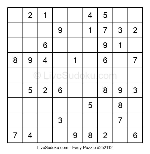 Beginners Puzzle #252112