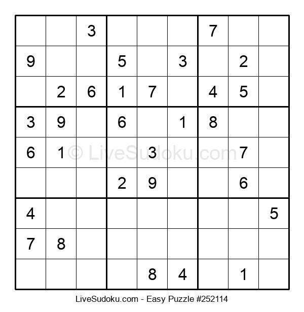 Beginners Puzzle #252114
