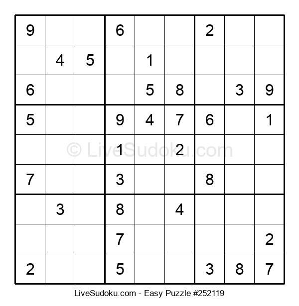 Beginners Puzzle #252119