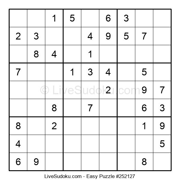 Beginners Puzzle #252127
