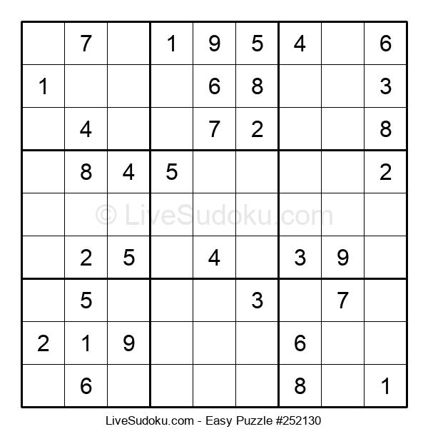 Beginners Puzzle #252130