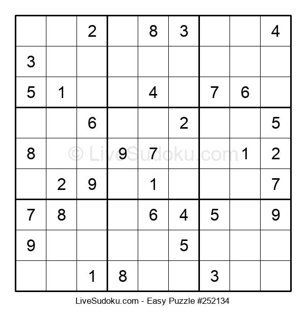Beginners Puzzle #252134