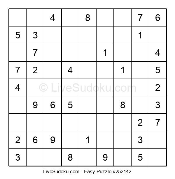 Beginners Puzzle #252142