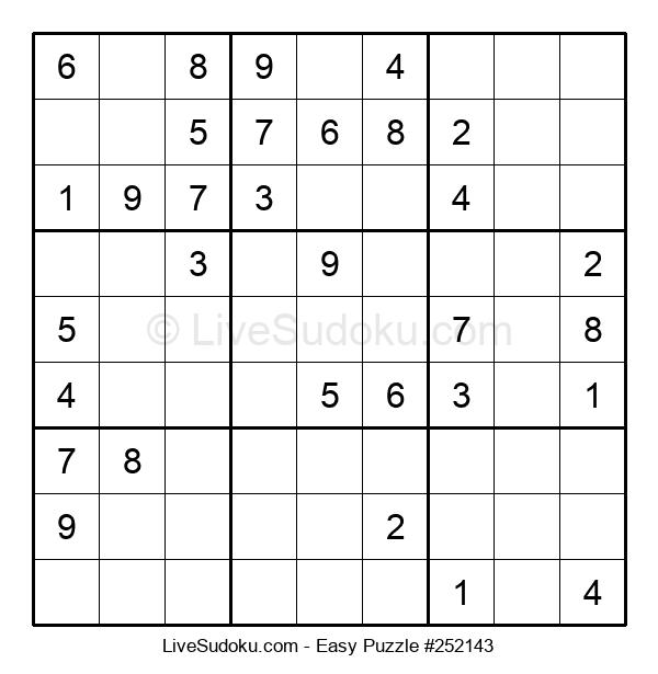 Beginners Puzzle #252143