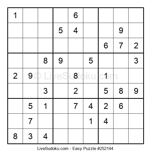Beginners Puzzle #252144