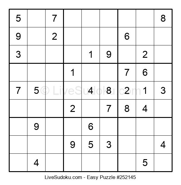 Beginners Puzzle #252145