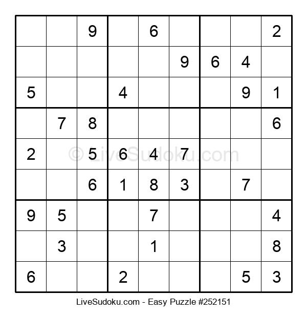 Beginners Puzzle #252151