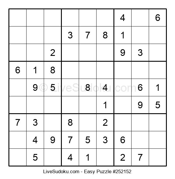 Beginners Puzzle #252152
