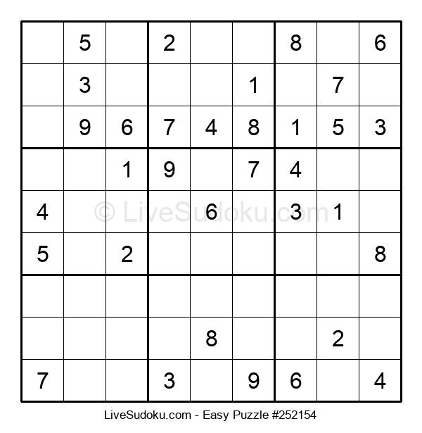 Beginners Puzzle #252154