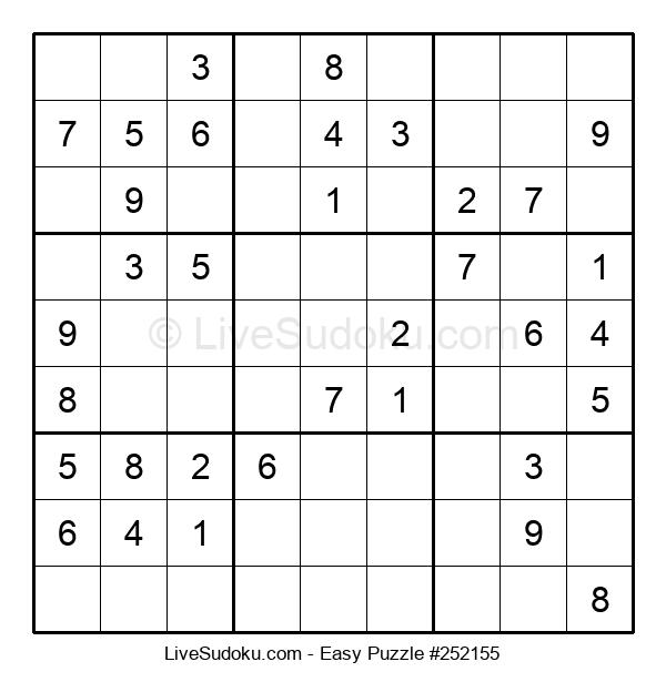 Beginners Puzzle #252155