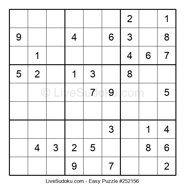 Beginners Puzzle #252156