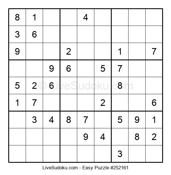 Beginners Puzzle #252161
