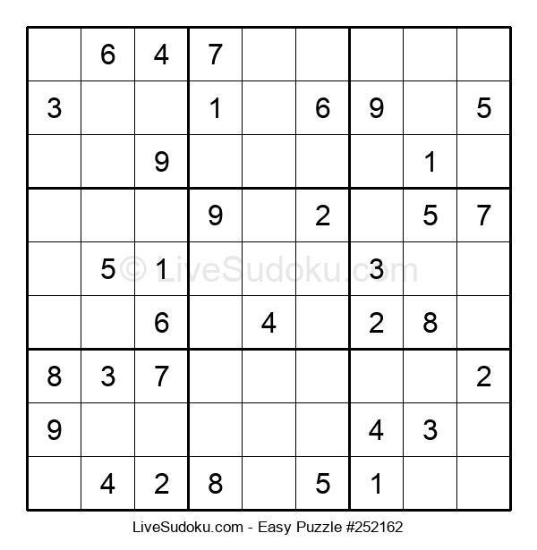 Beginners Puzzle #252162