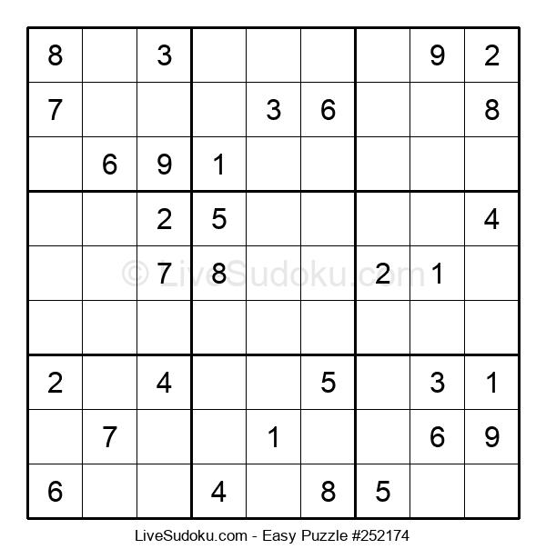 Beginners Puzzle #252174