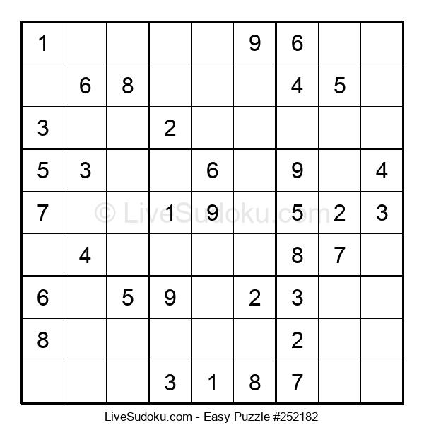Beginners Puzzle #252182