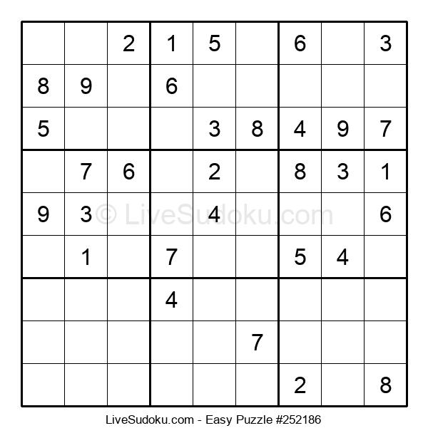 Beginners Puzzle #252186